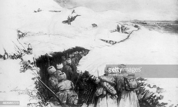 Russian trenches in the mountains of Galicia World War I The Russians advanced into Galicia after defeating the AustroHungarian army in the early...