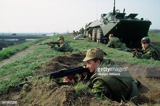 Russian Troops Along the Border Between Moldavia and Dniepr