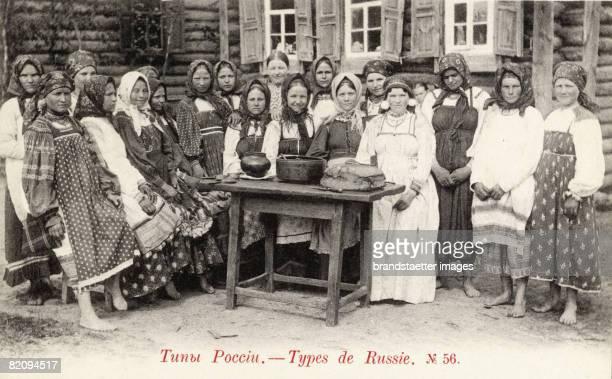 Russian Typs Photograph Around 1900 [Russische Typen Photographie Um 1900]