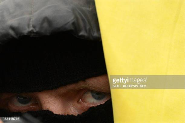 A Russian ultranationalist takes part in the socalled Russian March in central Moscow on November 4 marking the National Unity Day The annual Russian...