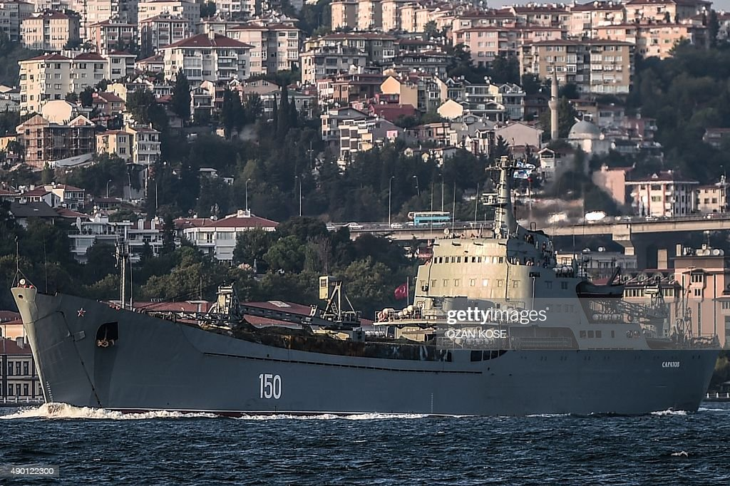 TURKEY-RUSSIA-SYRIA-NAVY-CONFLICT : News Photo