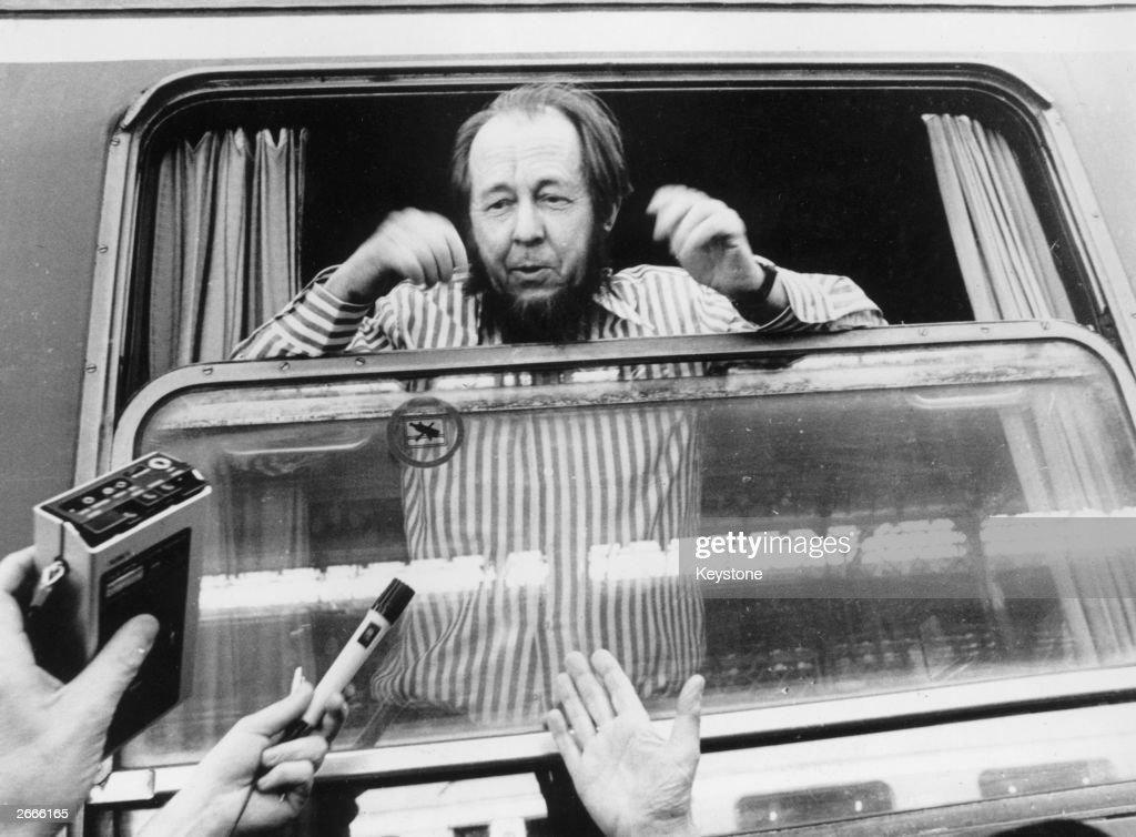A Solzhenitsyn : News Photo