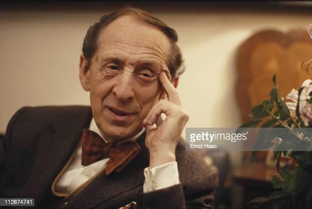 Russian-American pianist Vladimir Horowitz in New York City, 23rd March 1978.