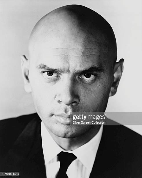 Russianborn actor Yul Brynner circa 1955