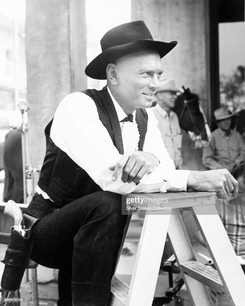 Yul brynner pictures getty images russian born actor yul brynner 1920 1985 on the set of the stopboris Gallery
