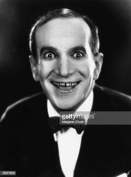 Russianborn American actor and singer Al Jolson