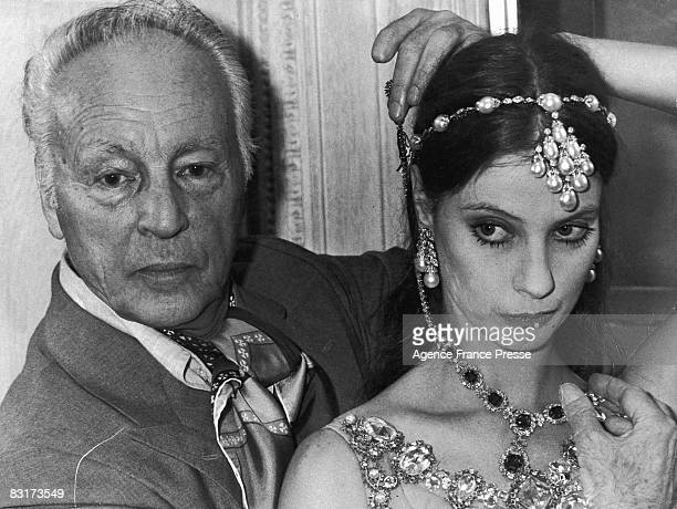 Russianborn American choreographer George Balanchine with American dancer Suzanne Farrell who appeared in many of his productions Paris France 24th...
