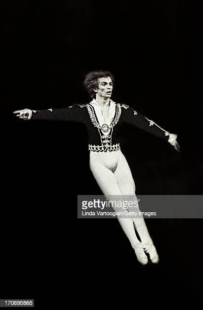 Russianborn ballet dancer Rudolf Nureyev performs in the National Ballet of Canada's production of 'Swan Lake' at Lincoln Center's Metropolitan Opera...