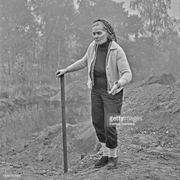 Russian-born British engineer and health theorist Dr Barbara Moore , UK, 2nd November 1964.