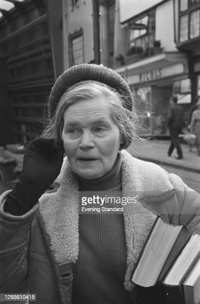 Russian-born British engineer Dr Barbara Moore , born Anna Cherkasova, UK, May 1967.