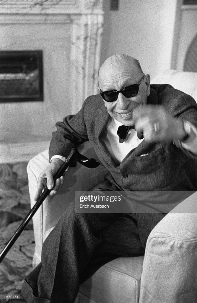 Stravinsky In Shades : News Photo