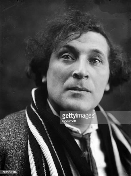 Russian-born French painter Marc Chagall , Paris, circa 1925.
