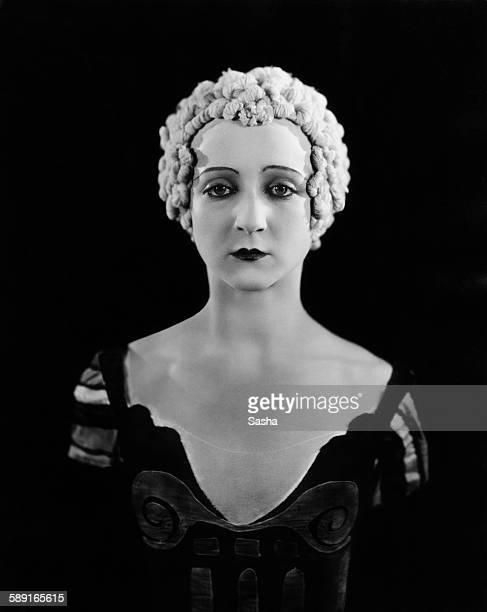 Russian-born prima ballerina Alexandra Danilova as she appears in Sergei Diaghilev's Ballets Russes production of 'Le Bal', London, 11th July 1929....