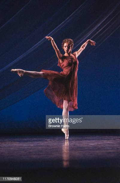 Russian-born prima ballerina and choreographer Natalia Makarova in 'Two Duets' for PBS' 'Dance In America,' New York, New York, January 15, 1980.