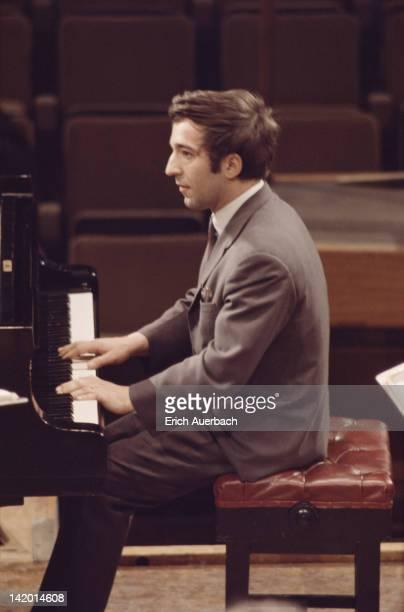 RussianIcelandic conductor and pianist Vladimir Ashkenazy circa 1965