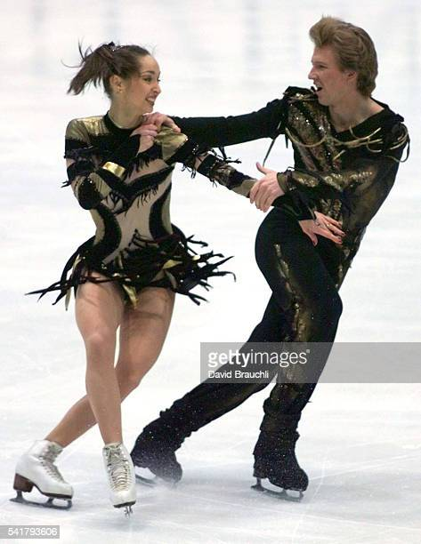Russians Anjelika Krylova Oleg Ovsiannikov won the gold medal in the Free Dance competition