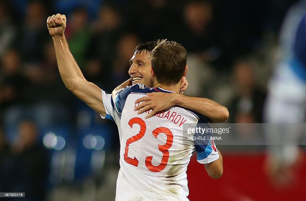 FBL-EURO-2016-LIE-RUS : News Photo
