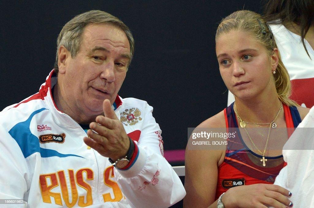 TENNIS-FEDCUP-FINAL-ITA-RUS : News Photo