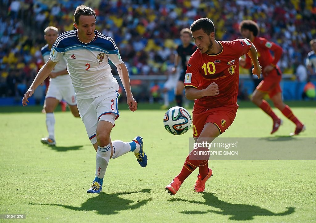 FBL-WC-2014-MATCH31-BEL-RUS : News Photo