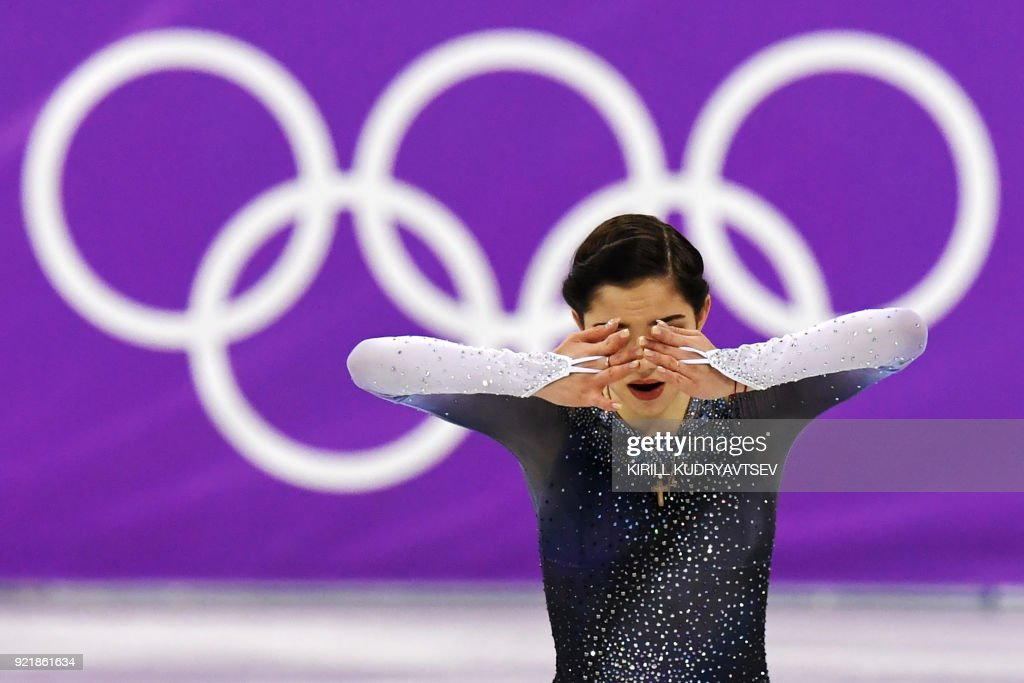 TOPSHOT-FSKATING-OLY-2018-PYEONGCHANG : News Photo