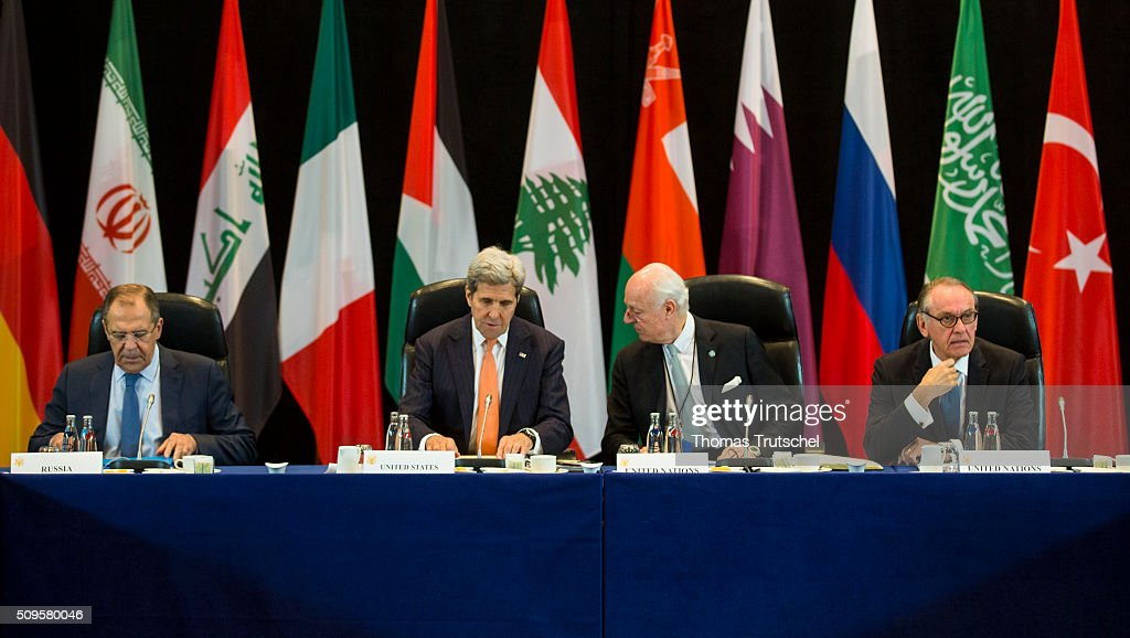 Meeting Of The International Syria Support Group