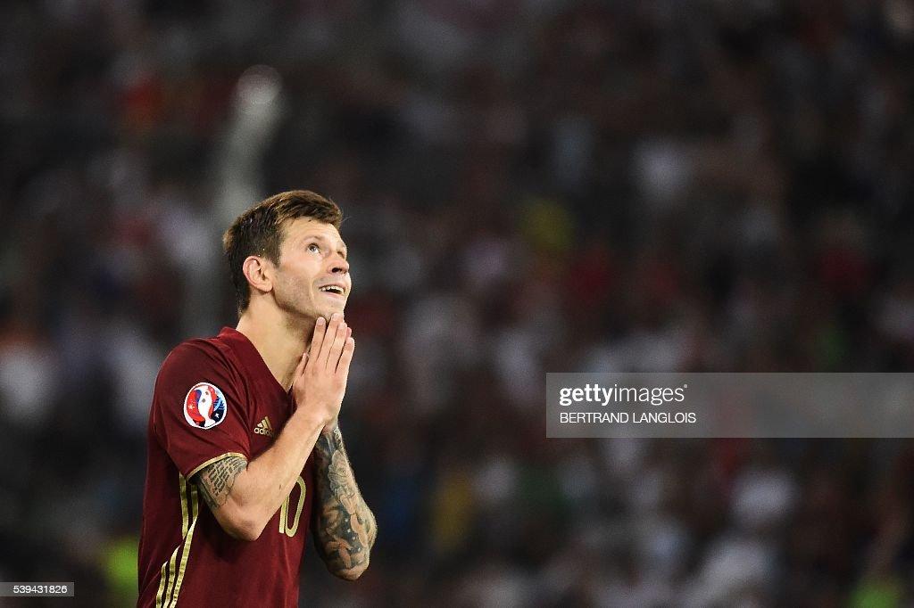 FBL-EURO-2016-MATCH4-ENG-RUS : News Photo