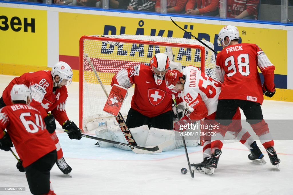 SVK: Switzerland v Russia: Group B - 2019 IIHF Ice Hockey World Championship Slovakia