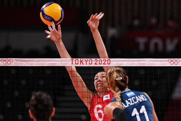 JPN: Volleyball - Olympics: Day 4