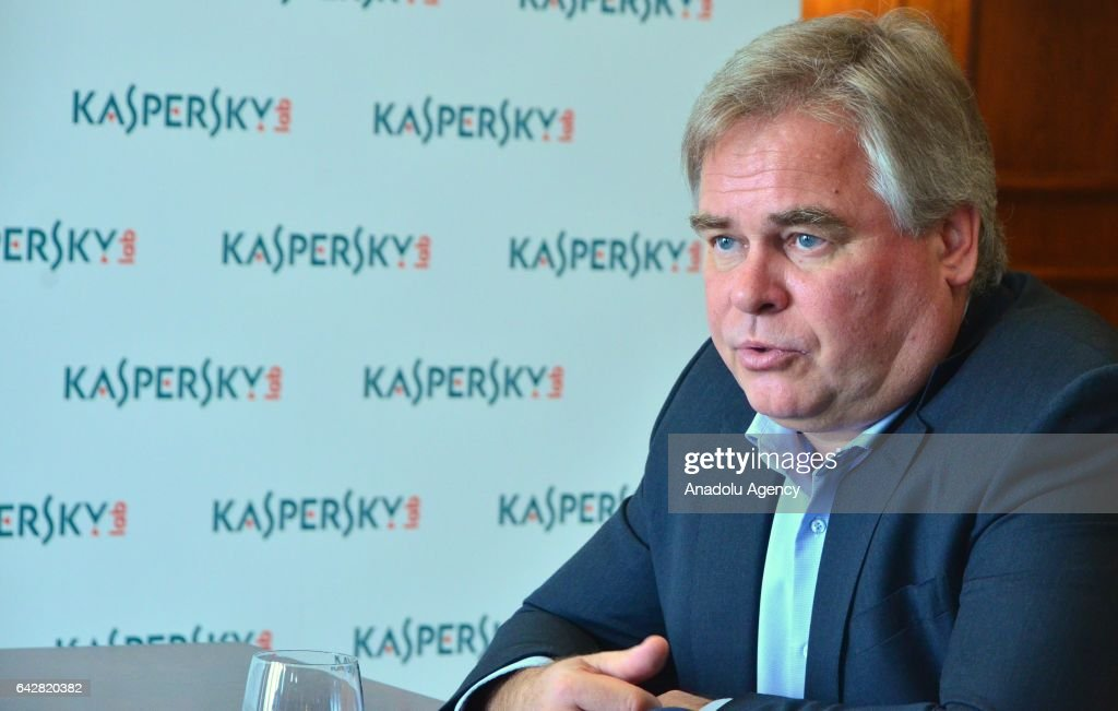 Russia's Kaspersky Lab CEO and Chairman Eugene Kaspersky : News Photo