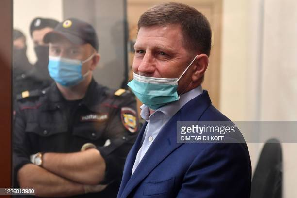 Russia's Khabarovsk region governor Sergei Furgal charged with organising the murders and the attempted murder of a number of entrepreneurs in 2004...