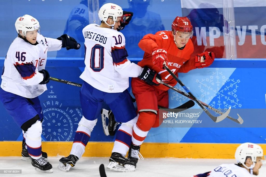 IHOCKEY-OLY-2018-PYEONGCHANG-NOR-AOR : News Photo