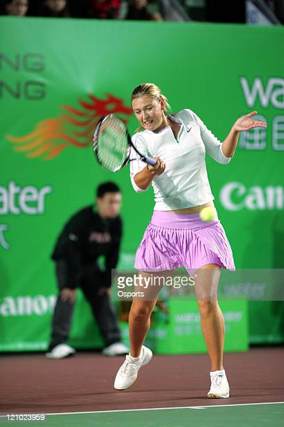Russia's Maria Sharapova in action during the Gold Group single's semifinal match between Maria Sharapova and Elena Dementieva in the Watsons Water...
