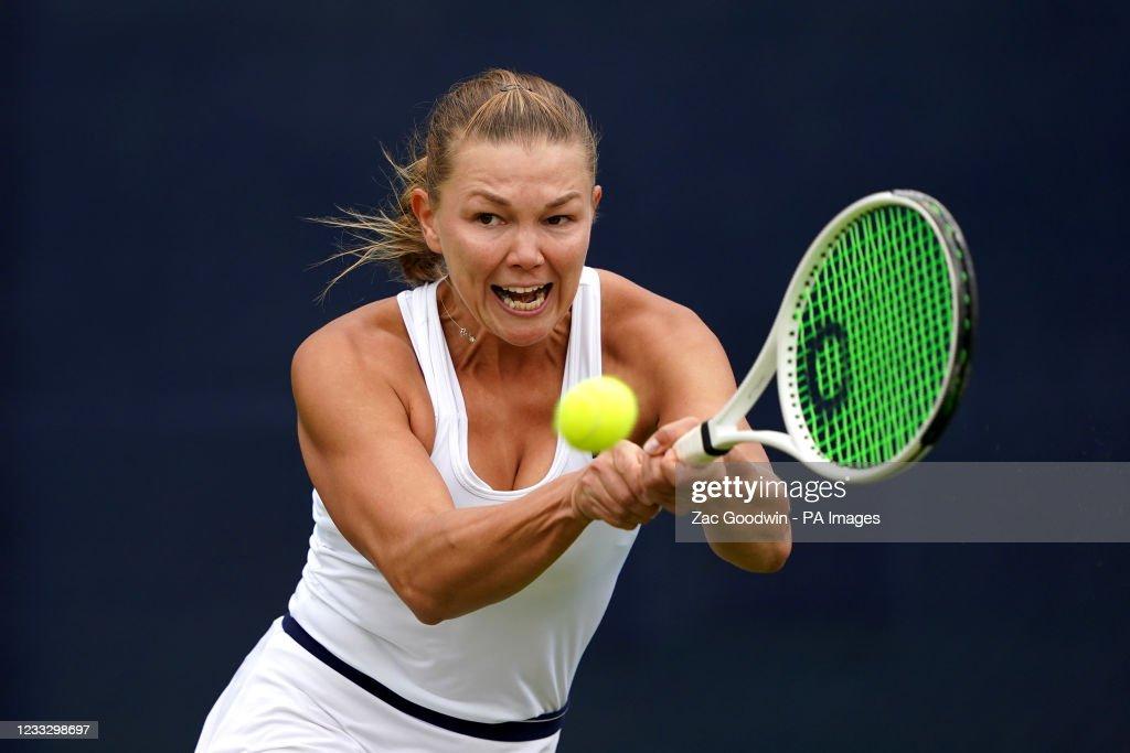 Viking Open - Day Two - Nottingham Tennis Centre : News Photo