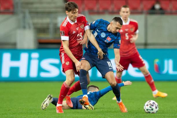 SVK: Slovakia v Russia - FIFA World Cup 2022 Qatar Qualifier