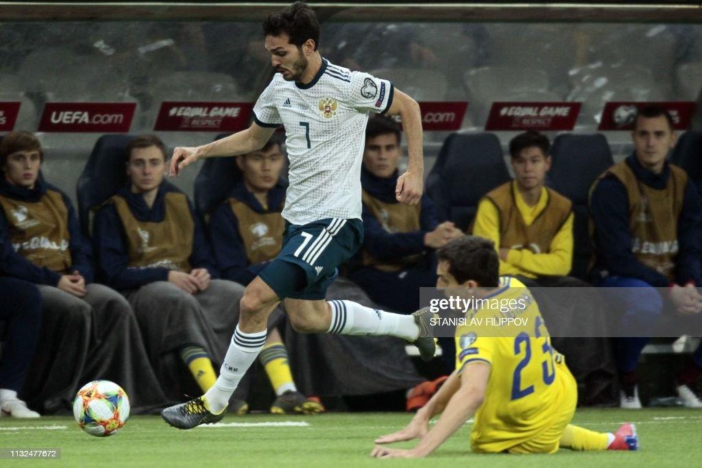 KAZ: Kazakhstan v Russia - UEFA EURO 2020 Qualifier