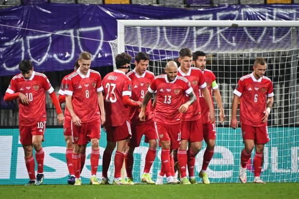 SVN: Slovenia v Russia - 2022 FIFA World Cup Qualifier