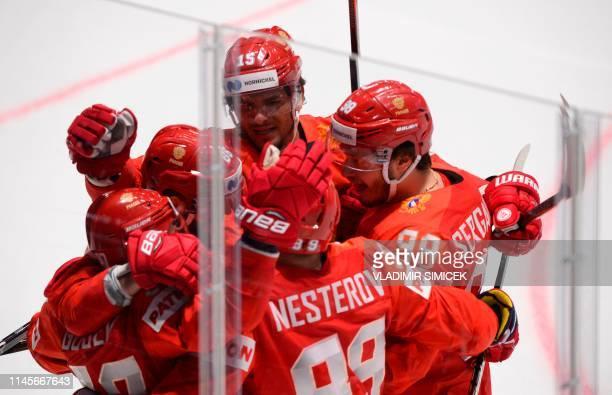 SVK: Russia v United States: Quarter Final - 2019 IIHF Ice Hockey World Championship Slovakia