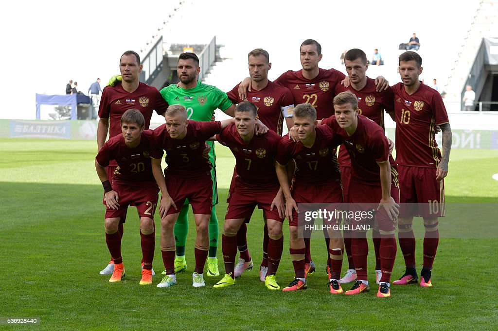 FBL-EURO-2016-FRIENDLY-RUS-CZE : News Photo