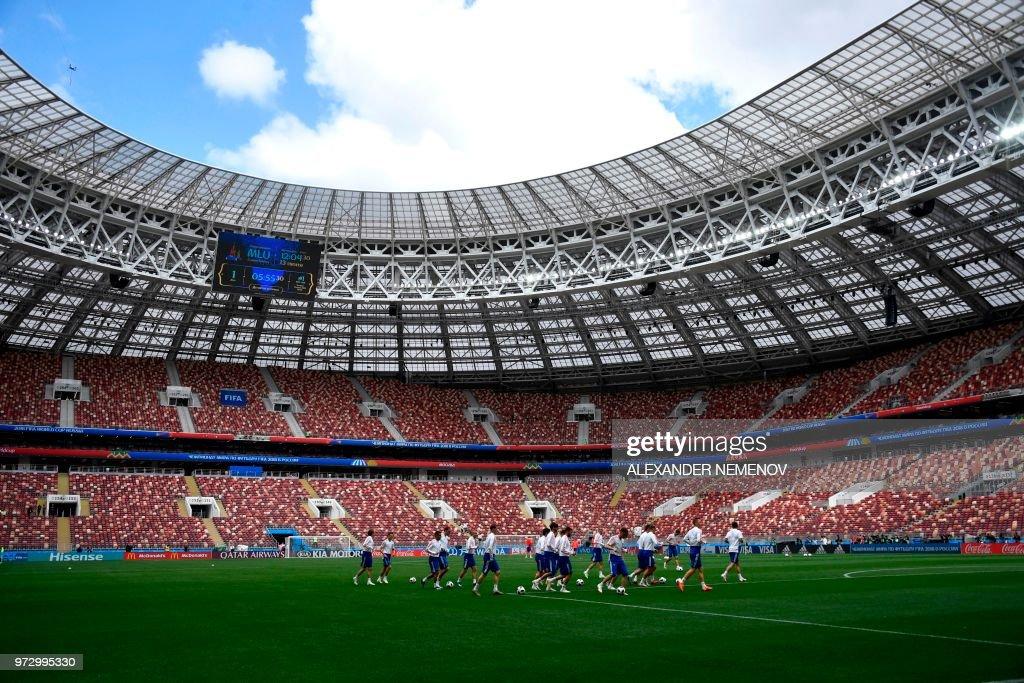 FBL-WC-2018-RUS-TRAINING : News Photo