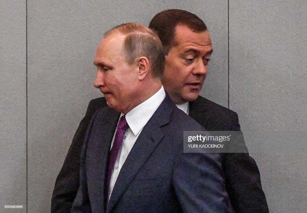 RUSSIA-POLITICS : News Photo