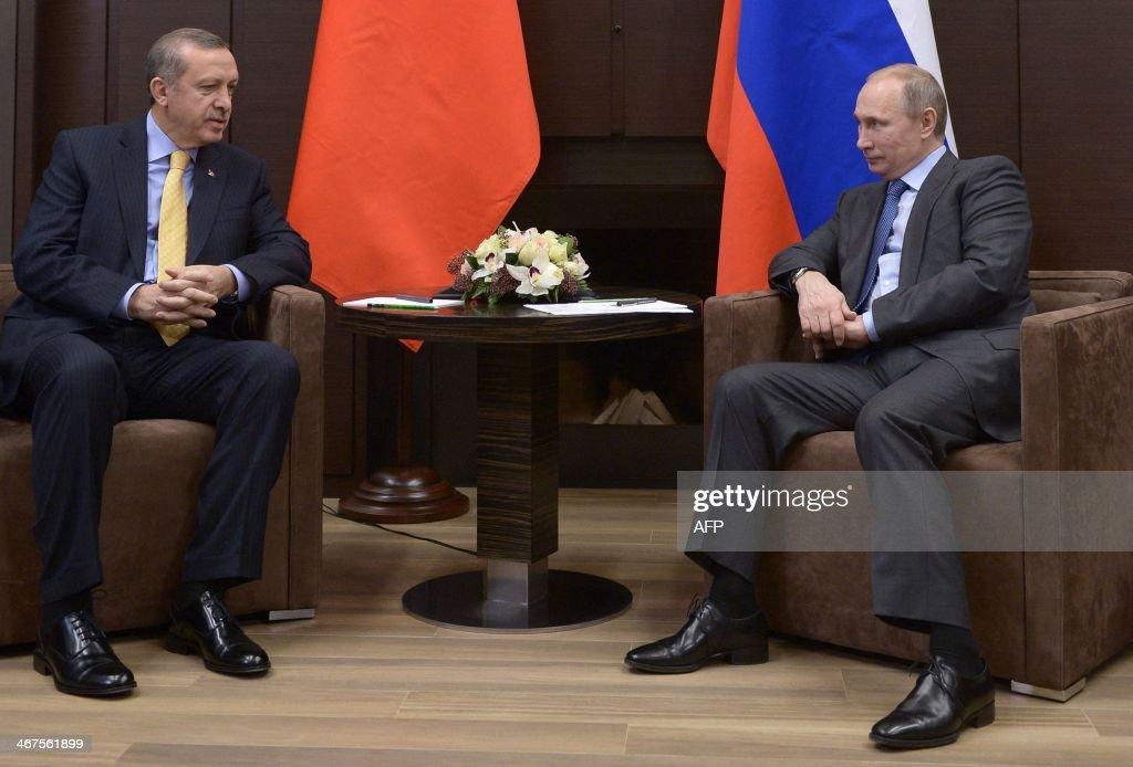 OLY-2014-RUSSIA-TURKEY-POLITICS-DIPLOMACY : News Photo