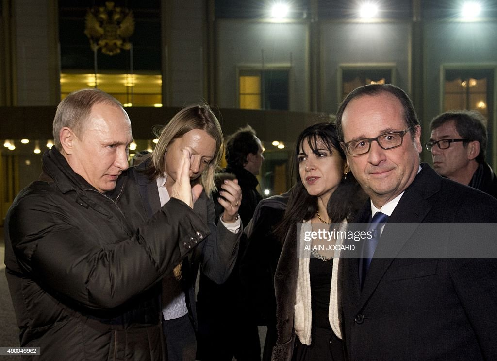 RUSSIA-FRANCE-DIPLOMACY : News Photo