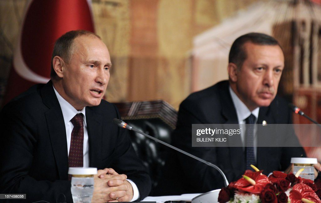 TURKEY-RUSSIA-SYRIA-CONFLICT-DIPLOMACY : News Photo