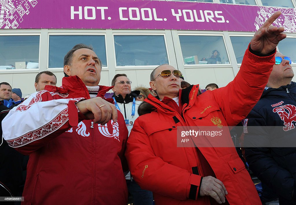 OLY-2014-RUSSIA-PUTIN : Nachrichtenfoto
