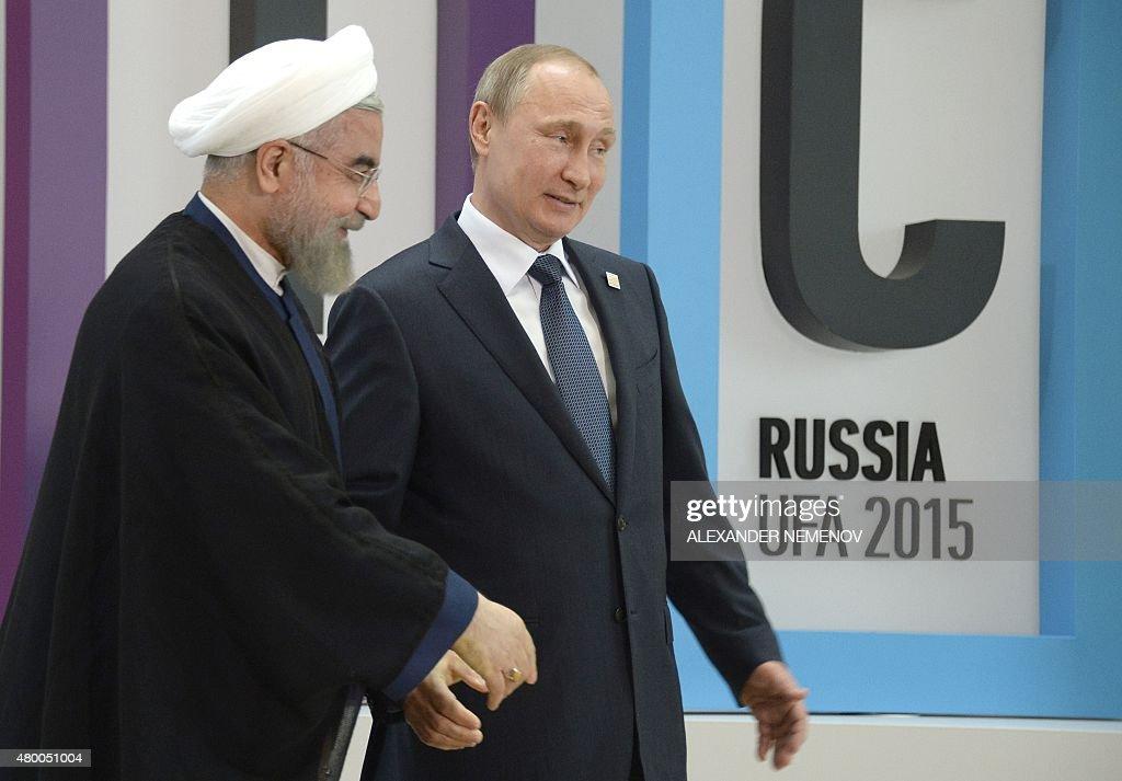 RUSSIA-ECONOMY-POLITICS-BRICS : News Photo