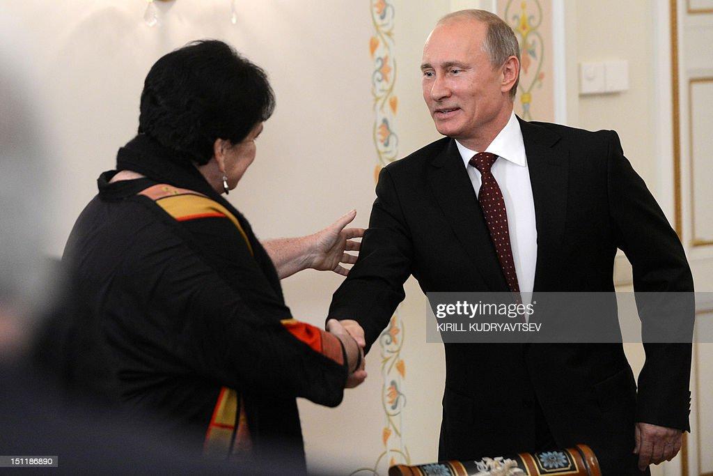 RUSSIA-APEC-SUMMIT-ECONOMY-POLITICS-PUTIN : News Photo