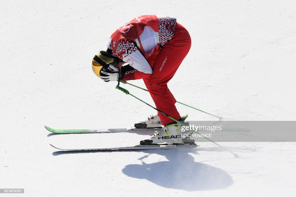 FREESTYLE SKIING-OLY-2018-PYEONGCHANG : News Photo