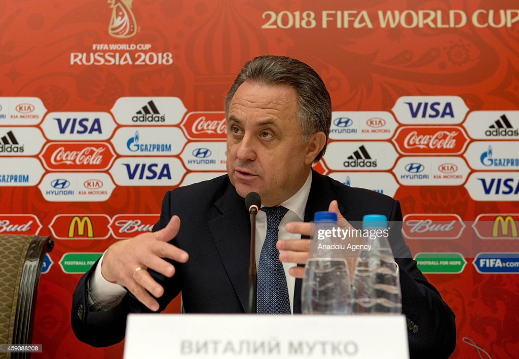 FIFA and Russia 2018 officials meet in Sochi : News Photo
