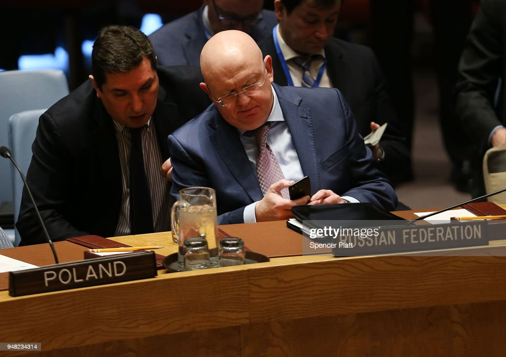 United Nations Security Council Meets On United Kingdom's Letter Regarding Poisoning Of Former Russian Spy