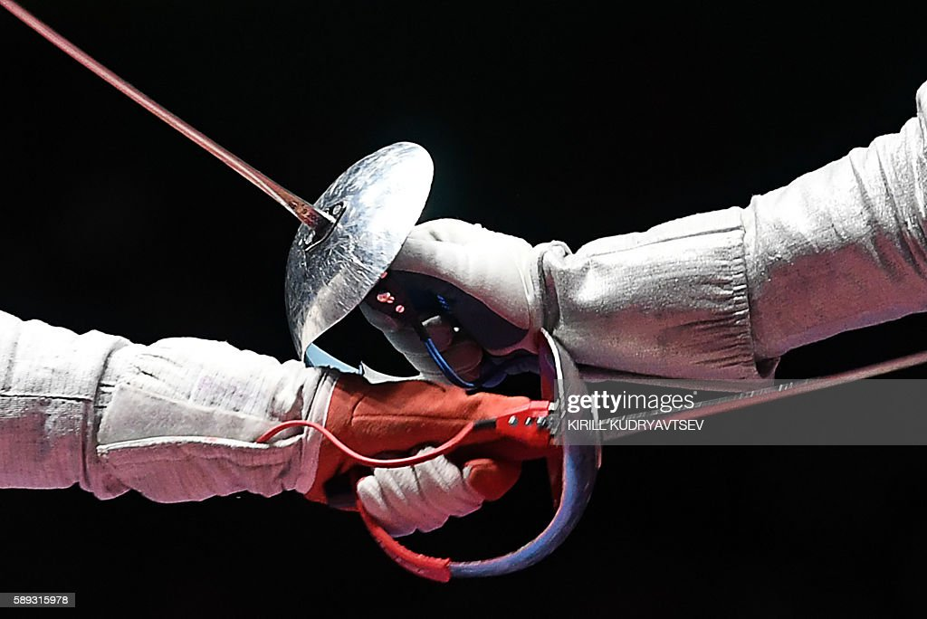 FENCING-OLY-2016-RIO : News Photo